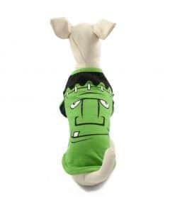 Ropa de Hallloween para perros pequeños Camiseta frankenstein