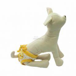 Bragas Perra Underwear Amarilla Lunares Blanca Patito Amarillo Ropa Perros (3)