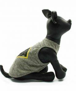 Camiseta Perro Gris Rombo Amarillo Ropa Perros Verano (2)