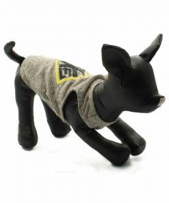 Camiseta Perro Gris Rombo Amarillo Ropa Perros Verano (3)