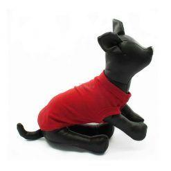 Camiseta Perro Roja Mangas Asisa Ropa Perros Verano Primavera (1)