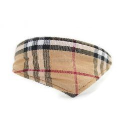 collar para perros cuadros escoceses