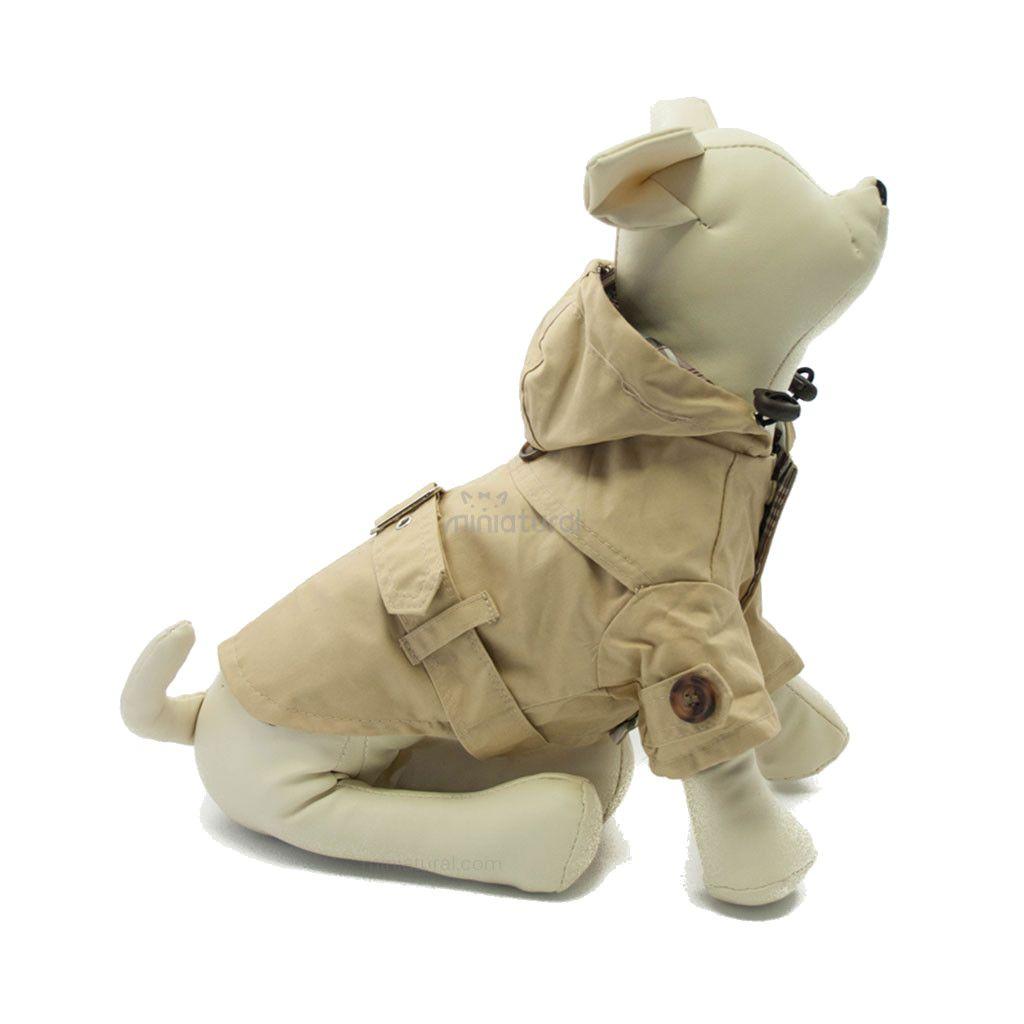 Abrigo Gabardina para perros de tamaño pequeño online