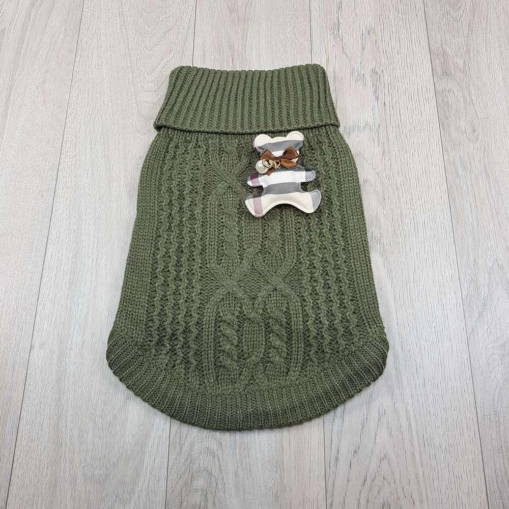 ALT jersey para perros pequeños jersey verde para perros pequeños