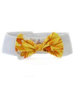 Pajarita Perro Naranja Flores Ceremonia Cuello Camisa (1)