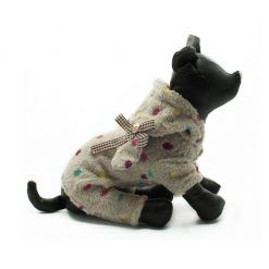Pijama Perros Conejito Estampado Lunares Colore Pelo Ropa Perros (1)