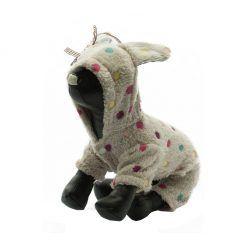 Pijama Perros Conejito Estampado Lunares Colore Pelo Ropa Perros (3)