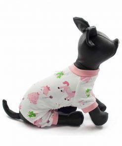 Pijama Rosa Perro Unicornio Princesa Sapo Ropa Perros Primavera Invierno (1)