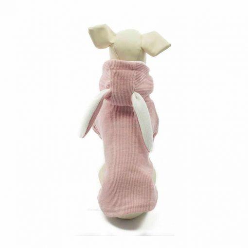 Sudadera Rosa Conejito Ropa Perros Primavera (7)