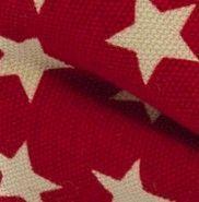 estrellas rojas fondo blanco pajarita