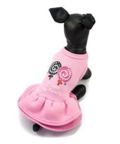 ALT Vestido rosa para perritas